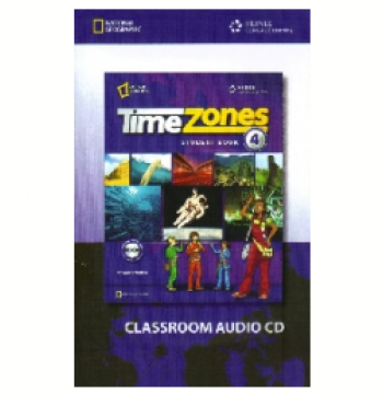 Time Zones 4 - Classroom Audio Cd (CD)