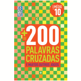 Livro Mais 200 Palavras Cruzadas - Equipe Coquetel