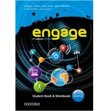 Engage Starter Student Book - Workbook With Multirom - Second Edition