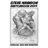 STEVE MANNION SKETCHBOOK 2014 Issue 1 (Ebook) - Mannion