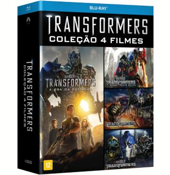 Transformers - Coleção 4 Filmes (Blu-Ray)