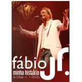 Box F�bio Jr. - Minha Hist�ria (3 Cds + 1 Dvd) (CD) - F�bio Jr