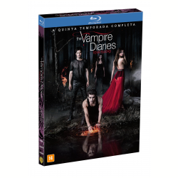 Blu - Ray - The Vampire Diares - Love Sucks - 5ª Temporada Completa - Ian Somerhalder - 7892110199711