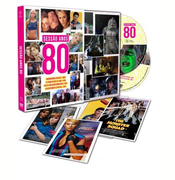 Sessão Anos 80 - Com 4 Cards (DVD)