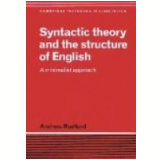 Syntactic Theory And The Structure Of English - Andrew Radford