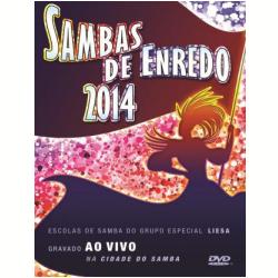 DVD - Sambas Enredos 2014 - Rio de Janeiro - Vários - 602537642649