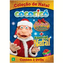 DVD - Cocorico - Coleção De Natal - Desenho - 7899587901311