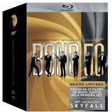 Box 007 Bond - 23 Filmes (Blu-Ray) - Vários (veja lista completa)