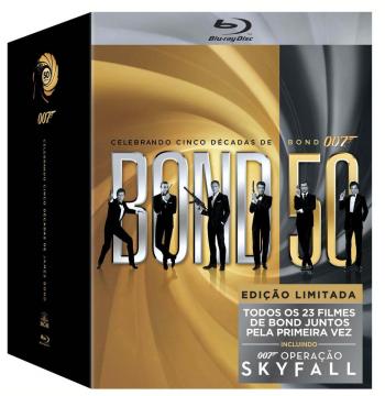 Box 007 Bond - 23 Filmes (Blu-Ray)