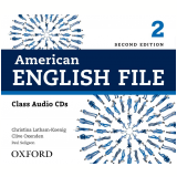 American English File 2 Class Cd Level 5 - Second Edition -