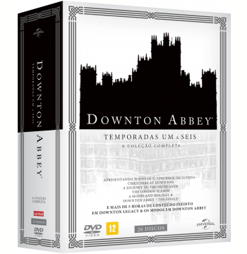 Downton Abbey - A Coleção Completa Legacy - As 6 Temporadas + 3 Discos Bônus (DVD)
