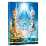 Tinker Bell - O Segredo Das Fadas (DVD) - Timothy Dalton, Lucy Hale, Megan Hilty