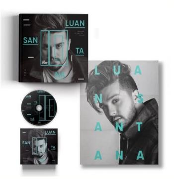 Box - Luan Santana 10 Anos (CD + Livro + Pôster)