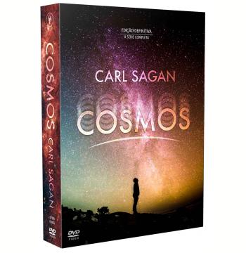 Carl Sagan - Cosmos - A Série Completa (7 DVD's)