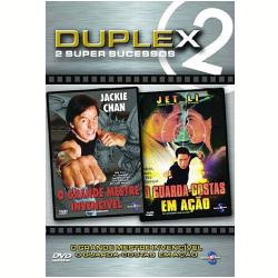DVD - Coleção Duplex: O Grande Mestre Invencível / O Guarda - Costas em Ação - Jackie Chan, Jet Li - 7898914141932