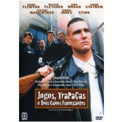DVD - Jogos, Trapaças e Dois Canos Fumegantes - Sting, Vinnie Jones - 7892770001805