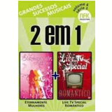 Eternamente Mulheres + Live TV Special Romântico (DVD) - Vários