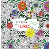 Terapia Das Flores - Livro De Colorir Antiestresse - Vários