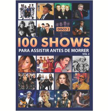 Box 100 Shows Para Assistir Antes de Morrer - Vol. 2 (DVD)