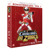 Os Cavaleiros do Zodíaco - Digipack (Vol. 1)  (Blu-Ray)