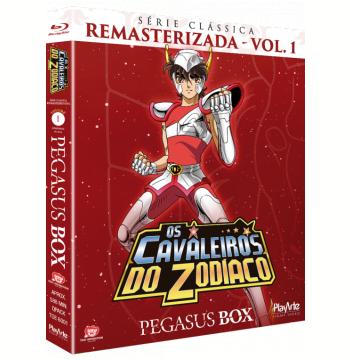 Os Cavaleiros do Zodíaco - Digipack (Vol. 1) (Blu-Ray)