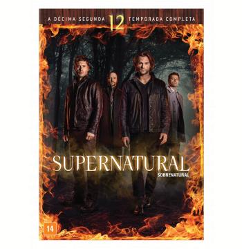Supernatural - Sobrenatural 12ª Temporada (DVD)