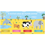 Box - A Incrível Caixa do Mundo Animal (4 Vols.) - Éditions Auzou, Lílian Melim