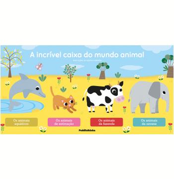 Box - A Incrível Caixa do Mundo Animal (4 Vols.)