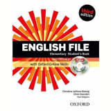 English File Elementary Student Book With Itutor And Online Skills - Third Edition - Clive Oxenden