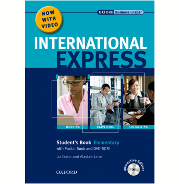 International Express Elementary Interac Student Book With Pocket Book Multirom