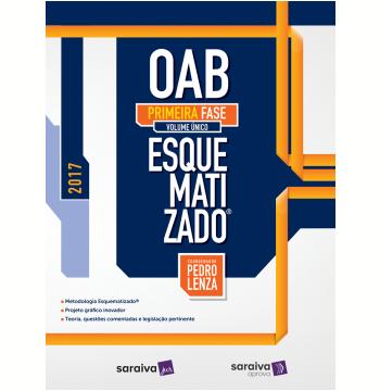OAB Esquematizado - 1ª Fase - 2017