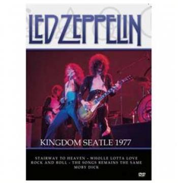 Led Zeppelin Kingdom Seatle 1977 (DVD)