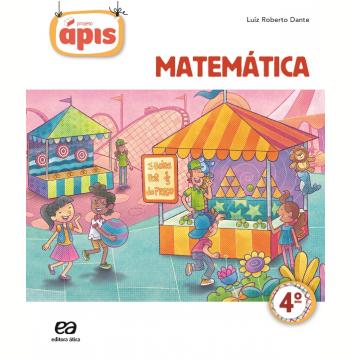 Projeto Ápis - Matemática - 4º Ano - Ensino Fundamental I