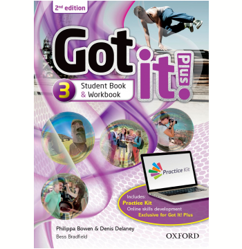 Got It! Plus 3 - Student Book - Workbook - Second Edition
