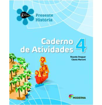 História - 4º Ano - 4ª Edição - Caderno De Exercícios