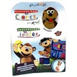 DVD - Kit Descobrindo as Cores e Descobrindo em Inglês - Desenho - 7898060836119