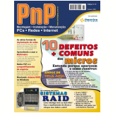 PnP Digital nº 10 - Defeitos mais comuns dos micros, Sistemas RAID, multímetros, erros de tela azul do Windows e (Ebook)