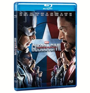 Capitão América: Guerra Civil (Blu-Ray)