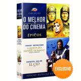 Box - O Melhor do Cinema - Épicos - Exclusivo (DVD) - Vários (veja lista completa)