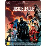 Liga da Justiça - Steelbook (Blu-Ray 3D + Blu-Ray)