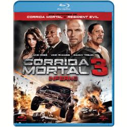 Blu - Ray - Corrida Mortal 3 - Danny Trejo, Ving Rhames - 7899587904565