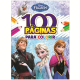 Disney Frozen - 100 Paginas Para Colorir - Jefferson Ferreira