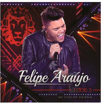 Felipe Araújo - 1 Dois 3 Ao Vivo em Goiânia (CD)