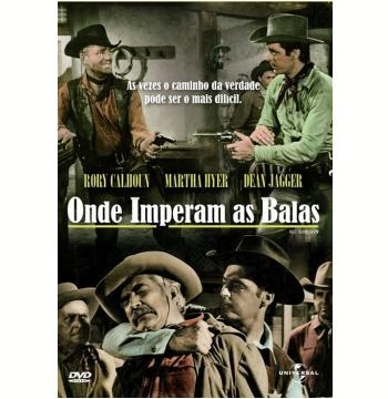 Onde Imperam As Balas (DVD)