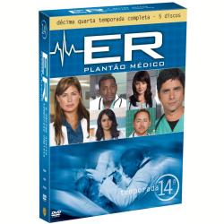 DVD - ER - Plantão Médico - 14ª Temporada Completa - Vários ( veja lista completa ) - 7892110117913