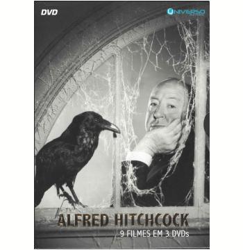 Box Alfred Hitchcock 9 Filmes em 3 Dvds (DVD)