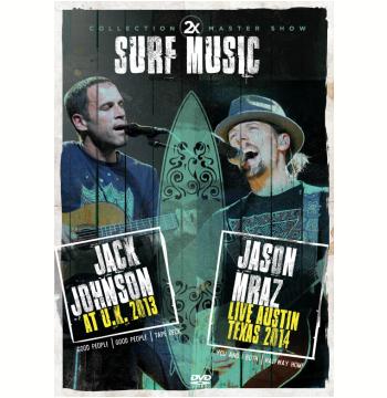 Jack Johnson 2013 e Jason Mraz 2014 (DVD)