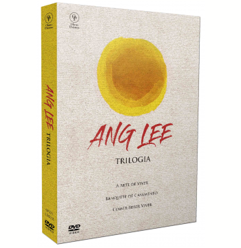 Trilogia  - Ang Lee - Com 3 Cards (DVD)
