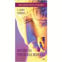 Livros - História da Psicologia - C. James Goodwin - 9788531610776