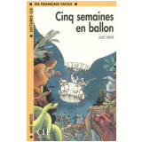 Cinq Semaines En Ballon - Livre - Júlio Verne
